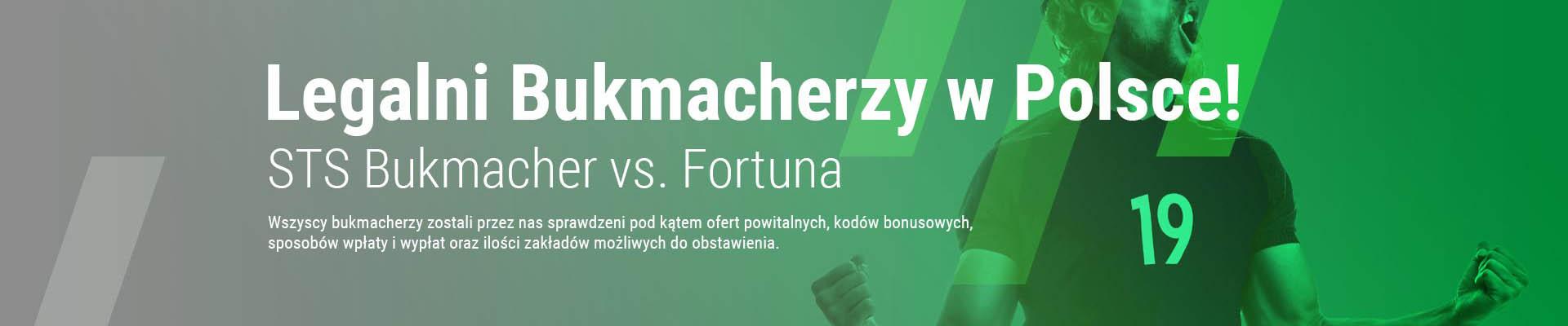 Poznaj oferte legalnie dzialajacych bukmacherow internetowych w Polsce!
