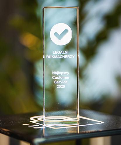 najlepszy Customer Service nagrody bukmacherskie