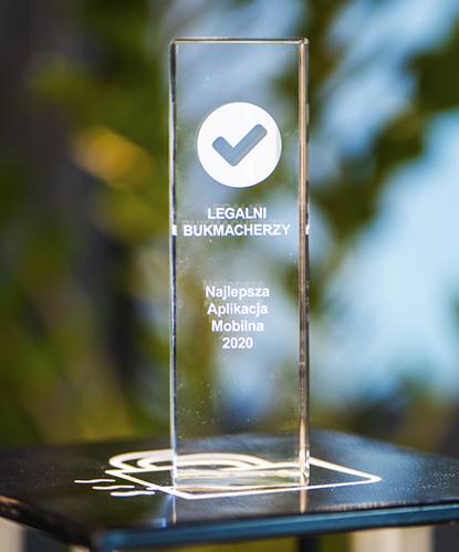 najlepsza aplikacja mobilna nagrody bukmacherskie
