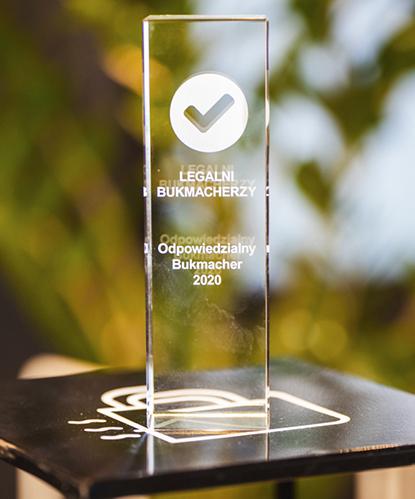 odpowiedzialny bukmacher 2020 nagrody bukmacherskie