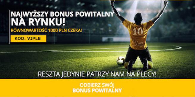 Aktywuj Bonus Powitalny - Kod promocyjny: VIPLB