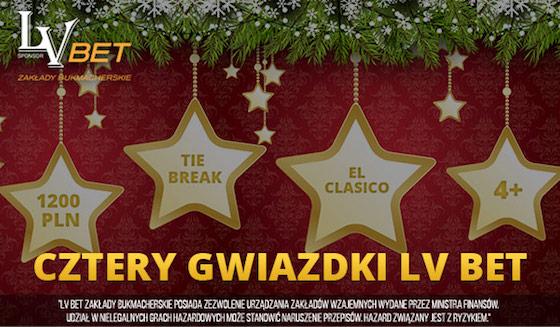 Świąteczna promocja Cztery Gwiazdki LV BET