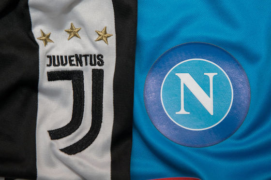 Kursy bukmacherskie na Napoli vs. Juventus - Serie A sezon 2017/18