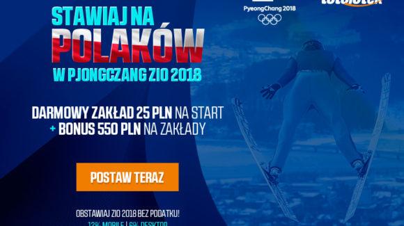 Olimpiada Zimowa 2018 Kursy na medale Polaków