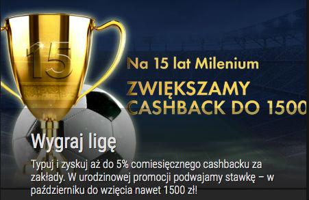 Cashback w Milenium