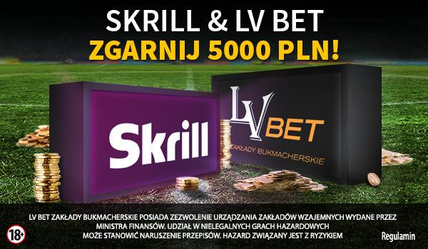 Wpłacaj środki przez Skrilla i zbieraj nagrody z bukmacherem LVBET