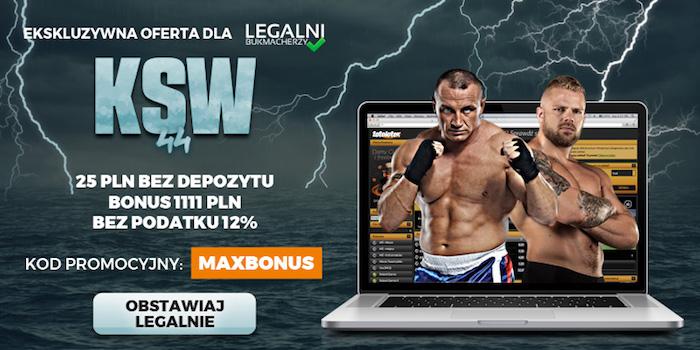 Pudzianowski vs Bedorf: Kursy na walki KSW 44