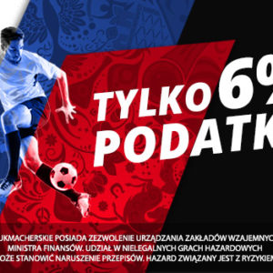 Podatek 6% na finał Mistrzostw Świata 2018 z LV BET