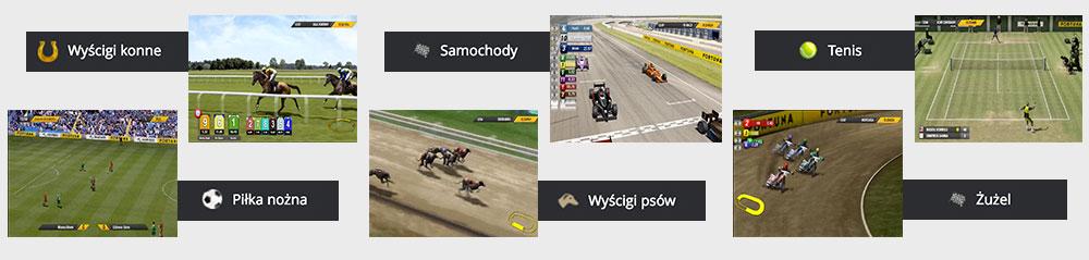 Sporty wirtualne w Fortunie