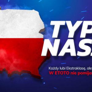 Typuj Polskie Ligi Piłkarskie z Etoto i odbierz Freebet 50 PLN