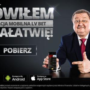Aplikacja mobilna iOS w LV BET. Obstawiaj zakłady na telefonie