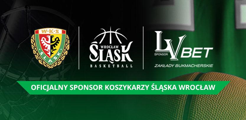 Koszykarski Śląsk Wrocław ma nowego sponsora w postaci LV BET