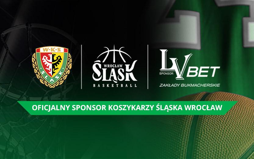LV BET sponsorem koszykarskiego Śląska Wrocław
