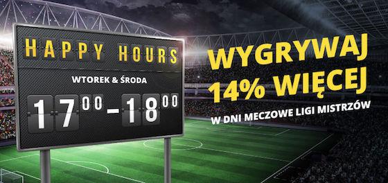 Wygrywaj 14% więcej w dni meczowe Ligi Mistrzów w Fortunie
