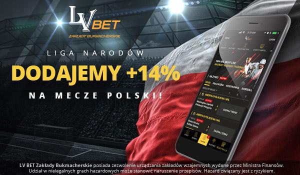 Promocja na mecze Polski w LN