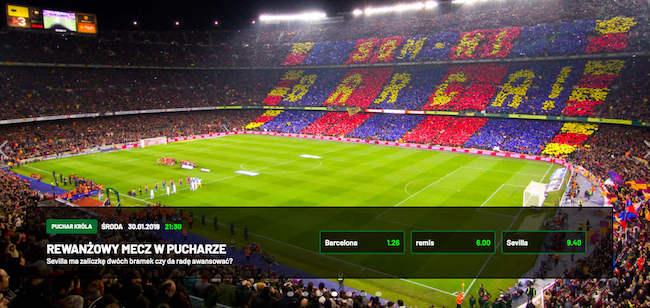 Barcelona - Sevilla - kursy na mecz