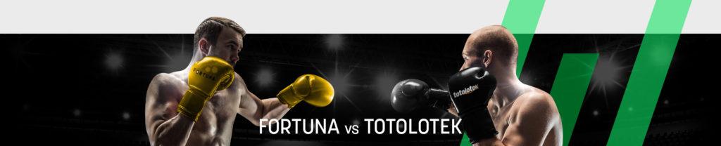Fortuna czy Totolotek –Jakiego bukmachera wybrać?