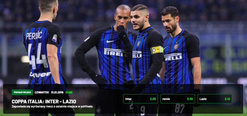 Inter – Lazio: Kursy bukmacherskie na Puchar Włoch