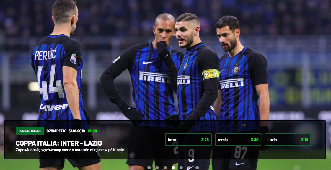 Inter - Lazio - kursy na mecz