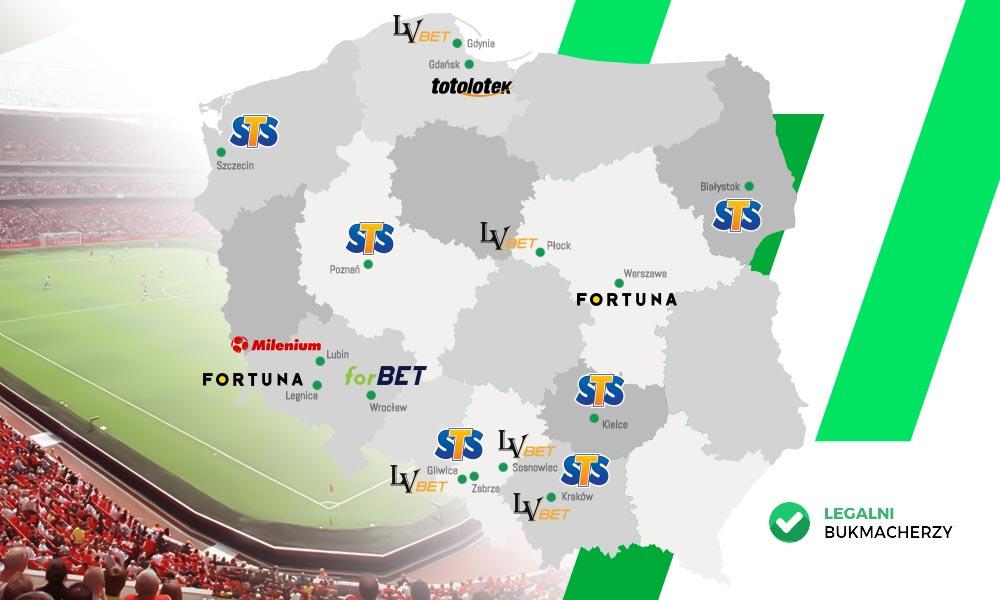 Mapa sponsoringu bukmacherów