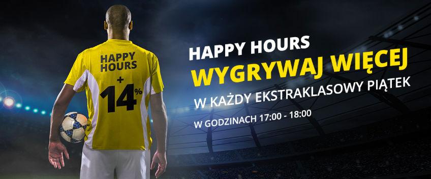 Happy Hours - Ekstraklasa w Fortunie