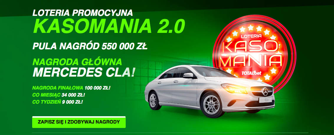 Kasomania 2.0 w Totalbet