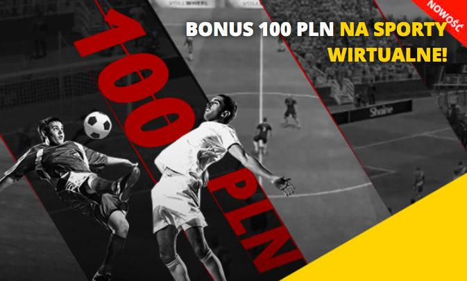 100 PLN na sporty wirtualne w LV BET