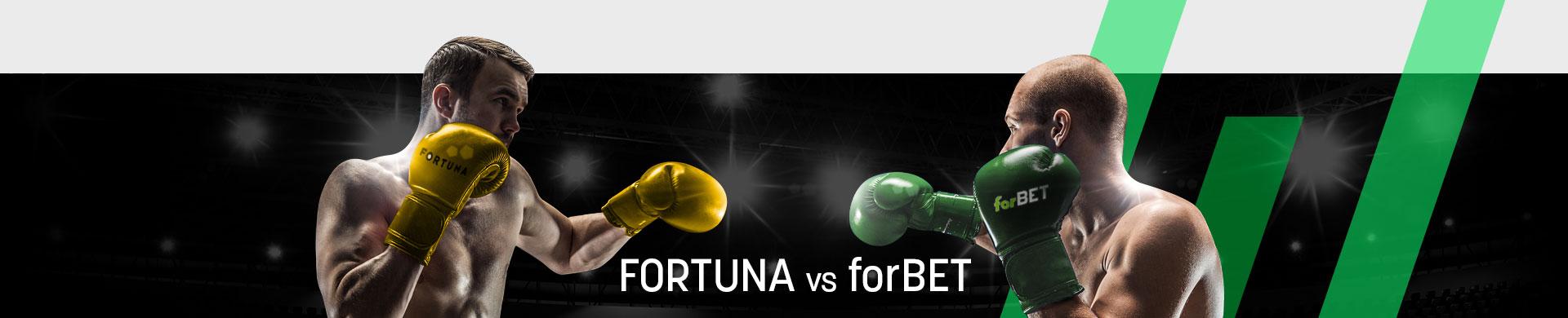 Fortuna czy forBET - porównanie