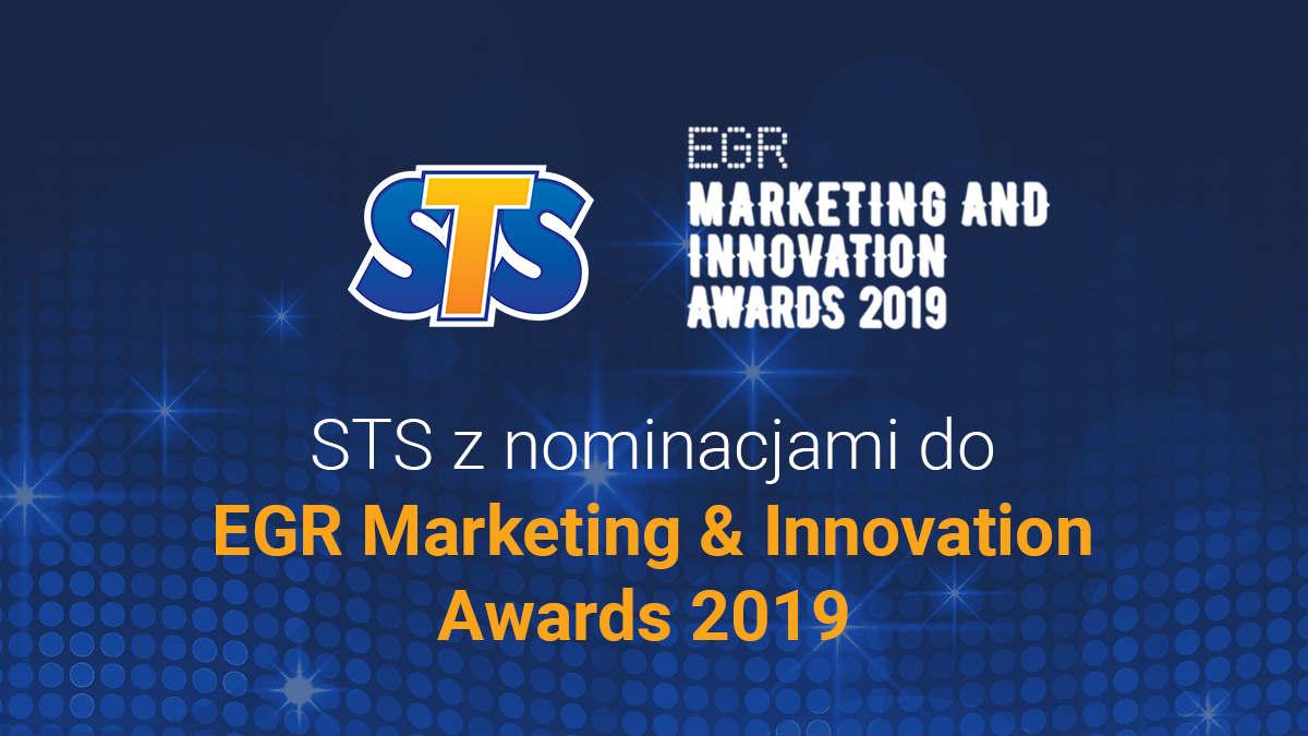 STS nominowany do nagrody EGR