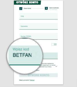 Kod promocyjny BetFan