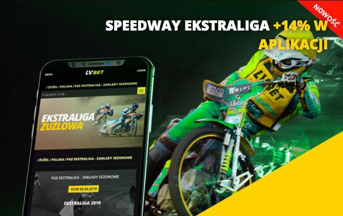 Speedway - promocja w aplikacji LV BET