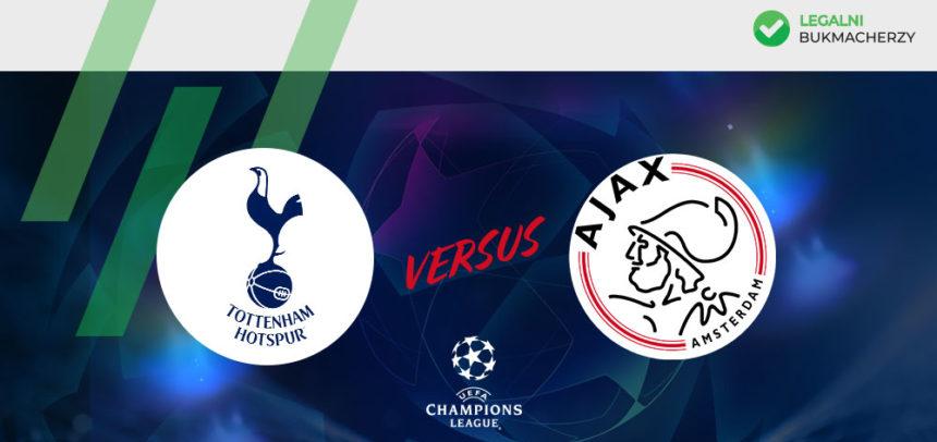 Tottenham – Ajax: Kursy bukmacherskie na LM