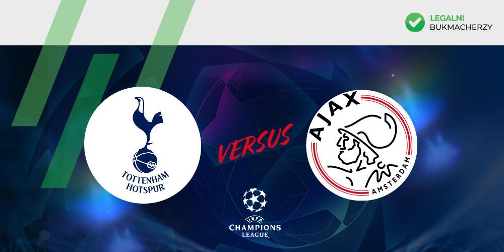 Tottenham - Ajax - kursy na LM