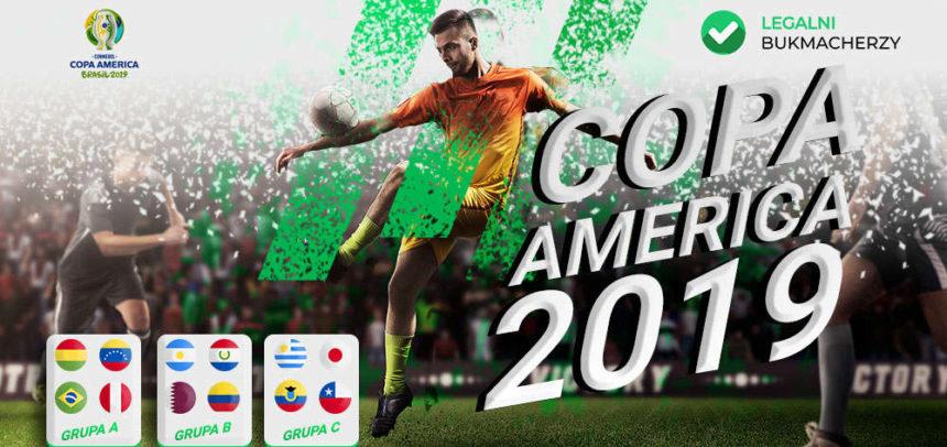 Copa America 2019: Kursy bukmacherskie