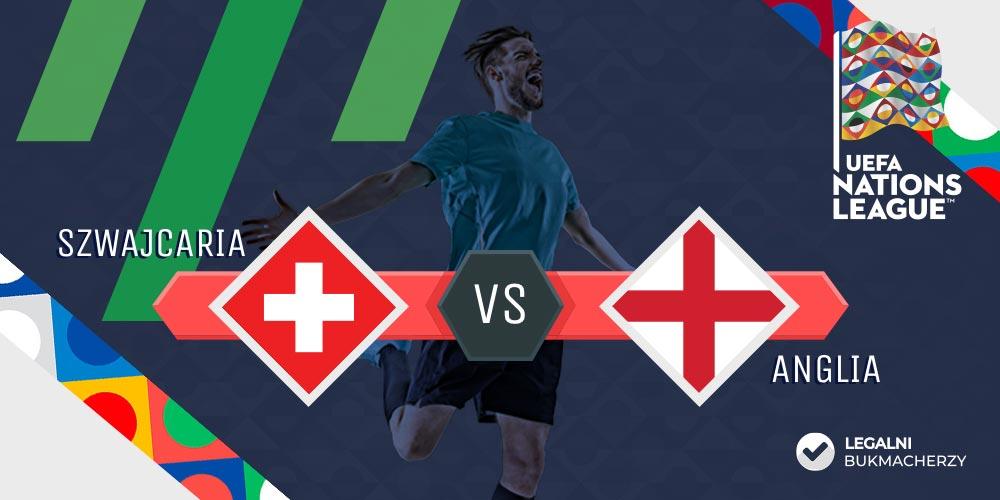 Szwajcaria - Anglia - kursy na mecz Ligi Narodów