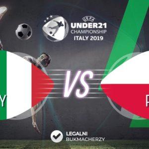 Włochy – Polska U21: Kursy bukmacherskie na Euro
