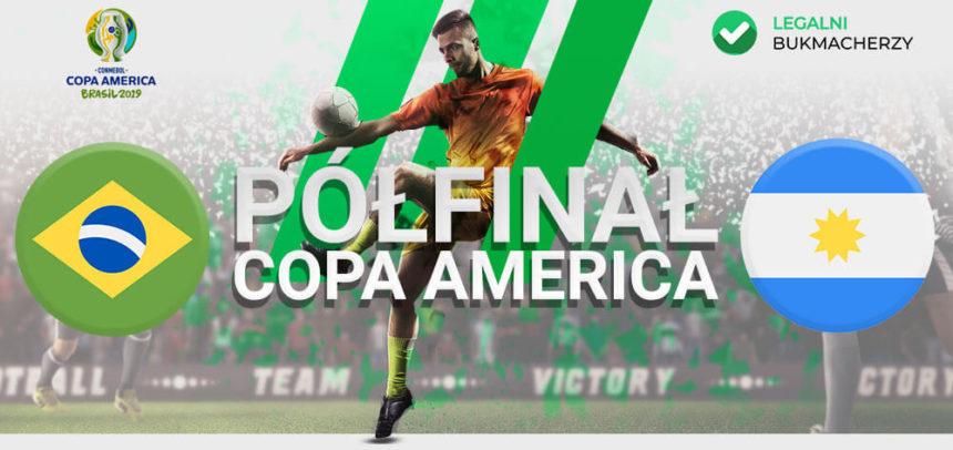 Brazylia – Argentyna: Kursy bukmacherskie na Copa America