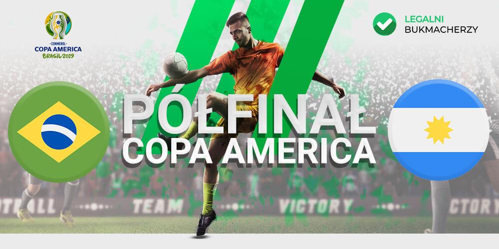 Brazylia - Argentyna - kursy na mecz