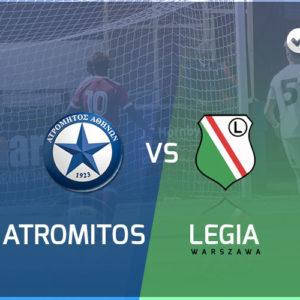Atromitos Ateny – Legia Warszawa: Kursy bukmacherskie