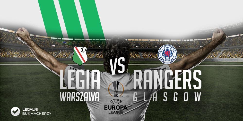 Legia - Rangers - kursy bukmacherskie