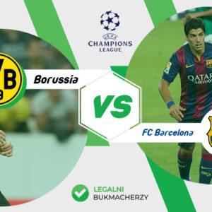 Borussia Dortmund – FC Barcelona: Kursy bukmacherskie