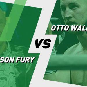 Tyson Fury – Otto Wallin: Kursy bukmacherskie