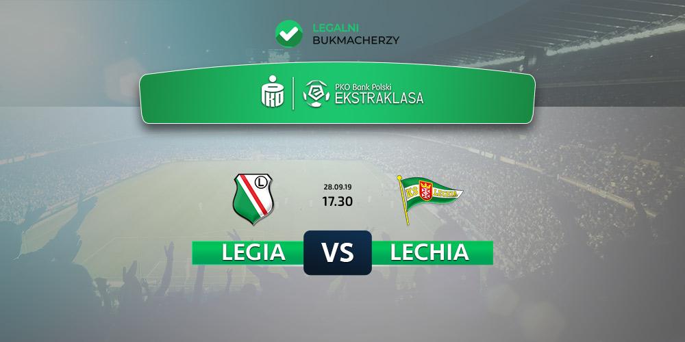 Legia - Lechia - kursy na zakłady