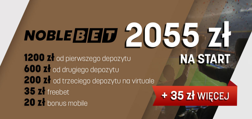 NobleBet Kod Bonusowy 2021 – Bonusy VIP + Opinie