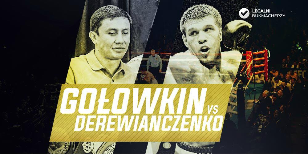 Gołowkin - Derewianczenko - kursy na walkę