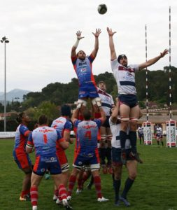 Mecz rugby - Nowicki