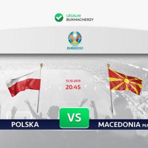 Polska – Macedonia Północna: Kursy bukmacherskie