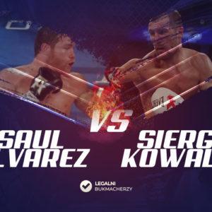 Saul Alvarez – Siergiej Kowaliow: Kursy bukmacherskie