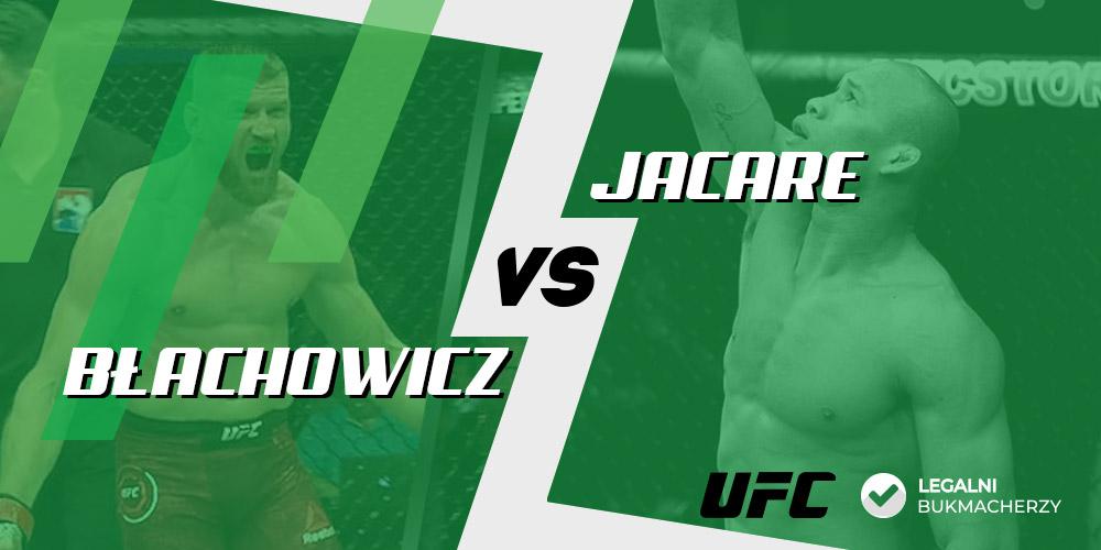 Błachowicz - Jacare - Gala UFC - kursy