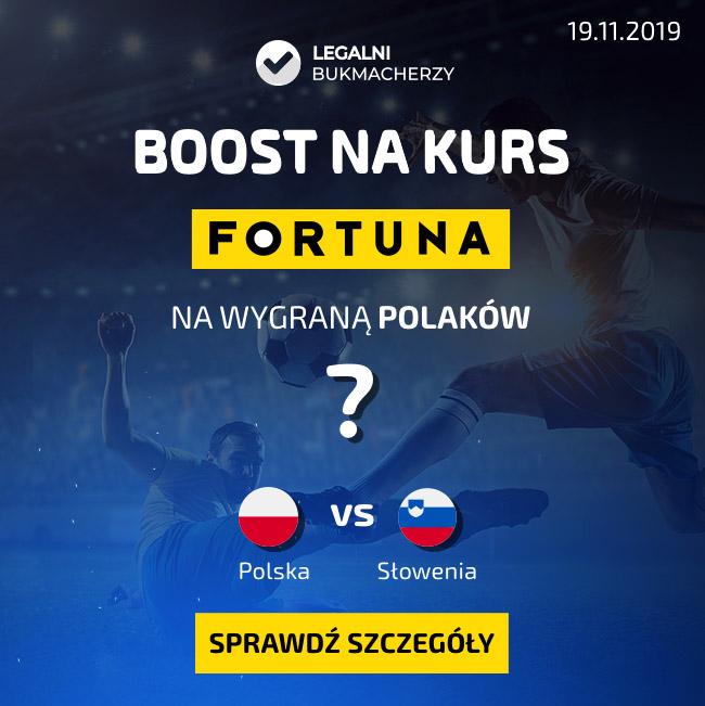 Boost na kurs Polska - Słowenia